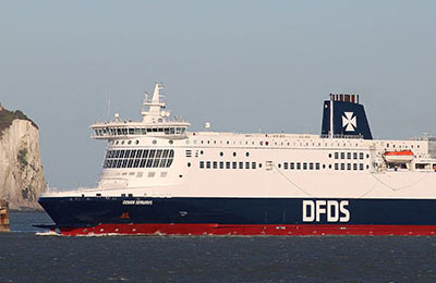 DFDS Seaways Carico Merci