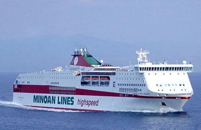 Minoan Lines Carico Merci