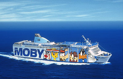 Moby Lines Carico Merci